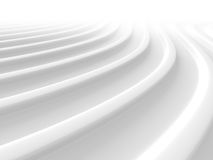 White Abstract Stripe Pattern Texture Background. 3d Render Illustration Royalty Free Stock Images