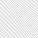 White abstract striped background - embossed surface. 3D effect. Vector illustration Vector Illustration