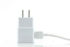 White adapter charger Royalty Free Stock Photo