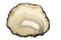 White agate Royalty Free Stock Image