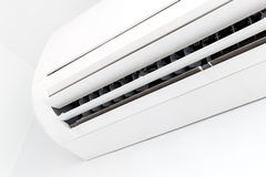 White air conditioner Royalty Free Stock Photography