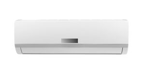 White air conditioner isolated Stock Photography