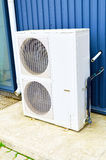White air conditioning system Royalty Free Stock Photos