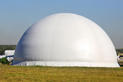 White air dome Stock Photos