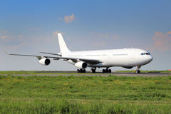 White aircraft Stock Photography