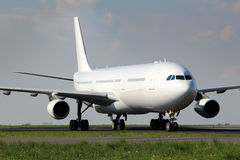 White aircraft Royalty Free Stock Photo