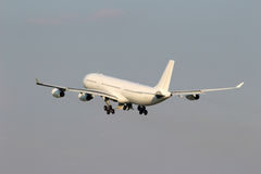 White aircraft Royalty Free Stock Images