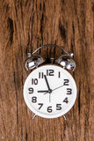 White alarm clock Royalty Free Stock Photos
