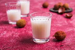 White alcoholic drink Royalty Free Stock Photography