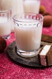 White alcoholic drink Royalty Free Stock Image