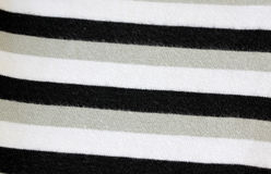 White alternating black T-Shirt of textured. Royalty Free Stock Images
