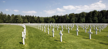 Luxembourg American Cemetery  Royalty Free Stock Image
