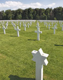 Luxembourg American Cemetery Royalty Free Stock Photo