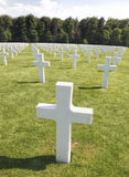 Luxembourg American War Cemetery Stock Photos