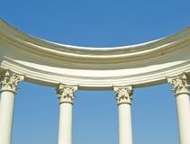 White ancient rotunda Stock Image