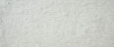 White Ancient Rough Bumpy Brick Wall Background royalty free stock photos