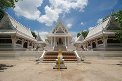 White Ancient Thai temple Stock Photo