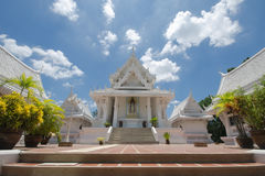 White Ancient Thai temple Royalty Free Stock Image