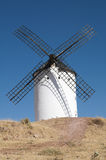 White ancient windmill Royalty Free Stock Images