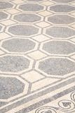 White And Black Ancient Mosaic Stock Photo