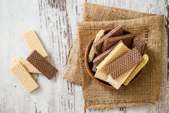 Free White And Black Wafer Biscuits Royalty Free Stock Photos - 49620238