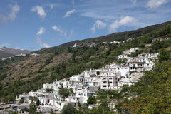White Andalusian village, Spain Stock Images