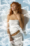 The white angel Royalty Free Stock Photo