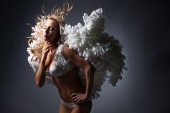 White angel Stock Image