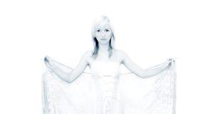 White angel stock photos
