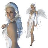 White angel Stock Photography