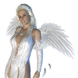 White angel Royalty Free Stock Photography