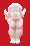 White angel figurine Royalty Free Stock Photos