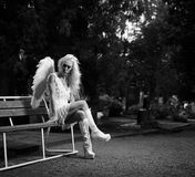 White angel Stock Photo