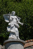 White angel statue. Close up Royalty Free Stock Photography
