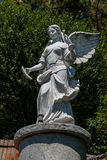 White angel statue. Close up Royalty Free Stock Photos