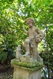White angel statue royalty free stock photo