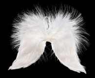 White angel wings Royalty Free Stock Photography