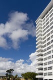 White apartment building Royalty Free Stock Photos