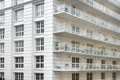 Free White Apartment Building Stock Images - 36109034