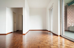 White apartment Interior Stock Photo