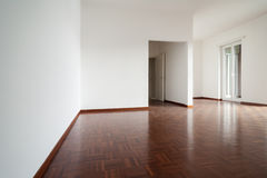 White apartment Interior Stock Images
