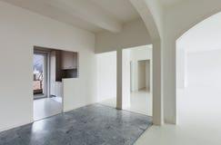 White apartment Interior Royalty Free Stock Photography
