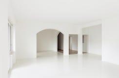 White apartment Interior Stock Photo