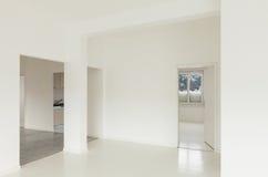 White apartment Interior Stock Images