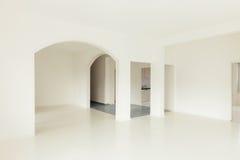 White apartment Interior Stock Image