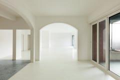 White apartment Interior Royalty Free Stock Image