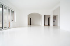 White apartment Interior Royalty Free Stock Image