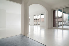 White apartment Interior Stock Photography