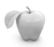 White apple Stock Photography