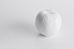 White apple. Royalty Free Stock Photo